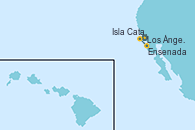 Visitando Los Ángeles (California), Isla Catalina (California/USA), Ensenada (México), Los Ángeles (California)