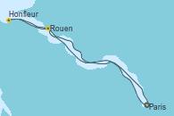 Visitando Paris (Francia), Paris (Francia), Rouen (Francia), Honfleur (Francia), Paris (Francia)