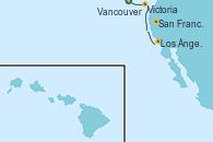 Visitando Vancouver (Canadá), Victoria (Canadá), San Francisco (California/EEUU), Los Ángeles (California)